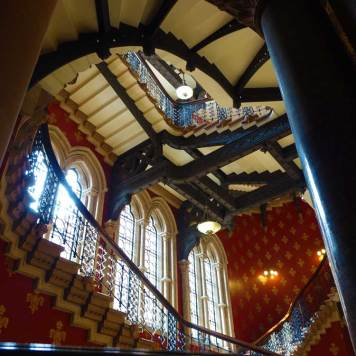The St. Pancras Renaissance Hotel London The Grand Staircase MenStyleFashion 2017 (9)