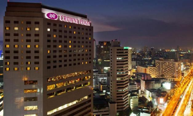 Crowne Plaza Bangkok Lumpini Park Reviewed