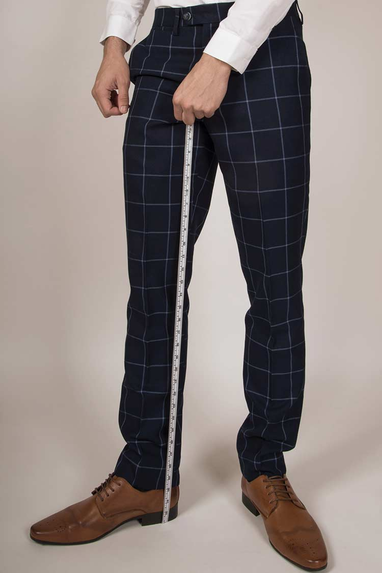 How To Properly Measure For A Suit trousers