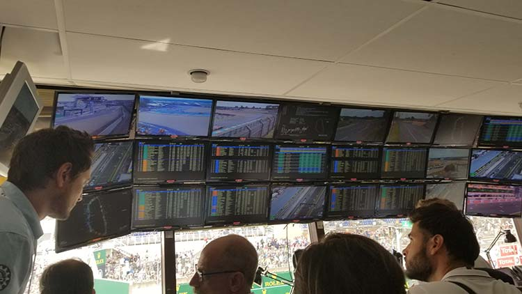 Le Mans 24 Hours- It's More Than Just Racing Control room