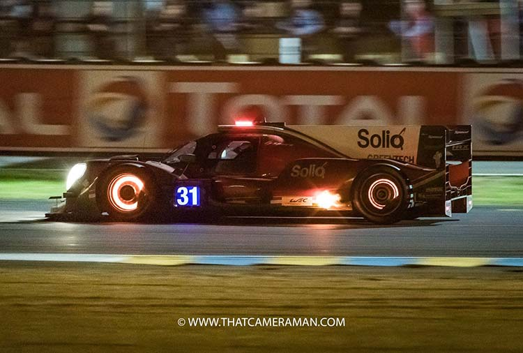 Le Mans 24 Hours- It's More Than Just Racing Braking disk turning red hot