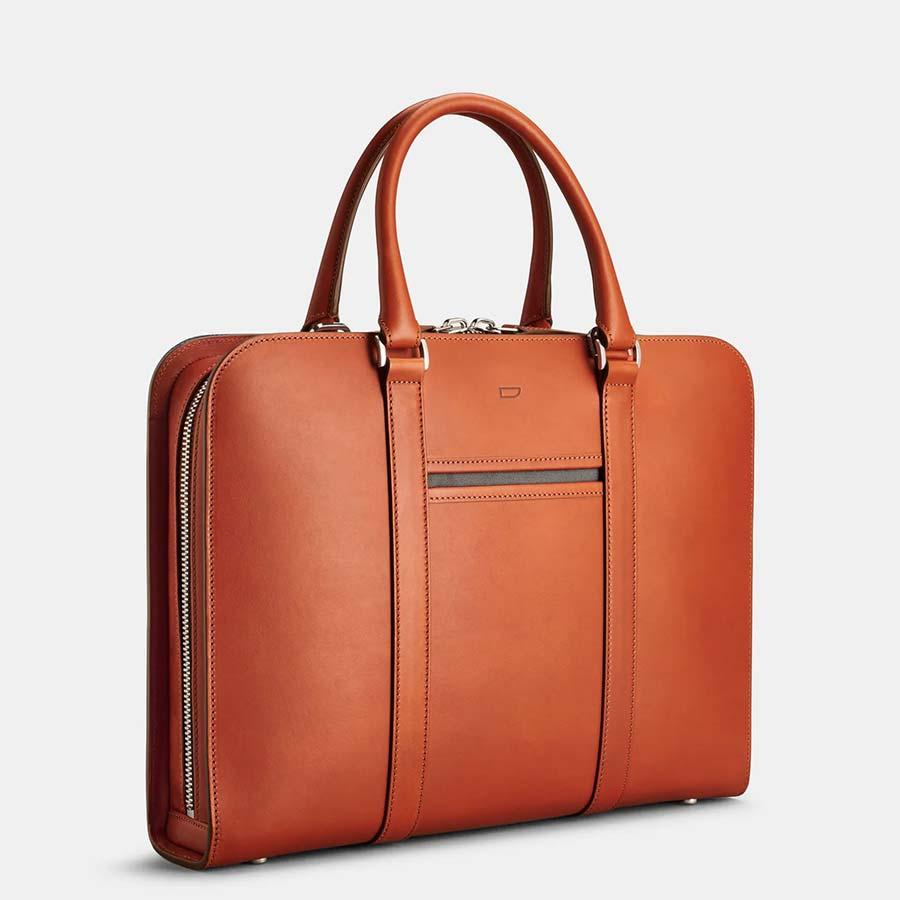 carl friedrik palissy leather briefcase