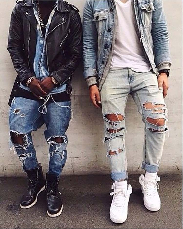 Top 5 Fashion Picks for Men - nr 4 ripped jeans