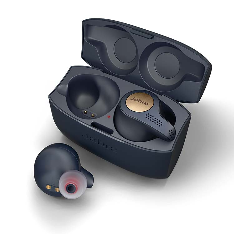 Jabra Elite Active 65t Wireless earbuds plus charging box