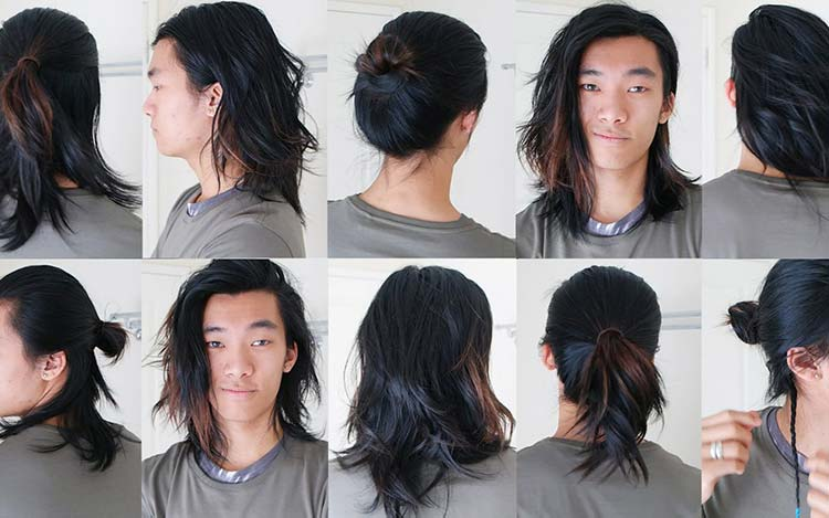 Long Hair - 5 Easy Ways To Style