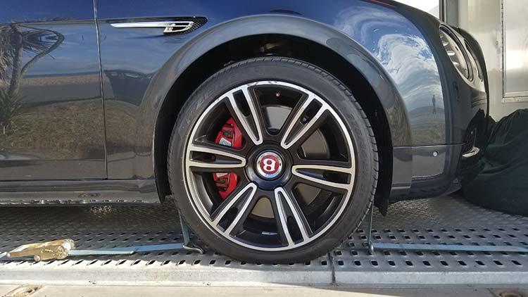 Bentley flying spur wheels