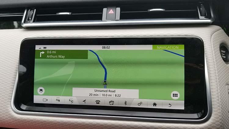 Range Rover Velar GPS