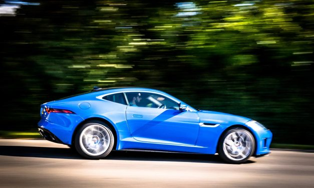 Jaguar F Type Coupe – Looking Stylish In Blue Review