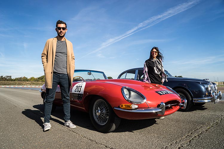 Gracie Opulanza Jaguar Classic Track day Coventry E-Type car RED Thomas Koflach