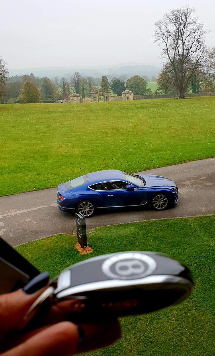 Bentley GT Continental Grand Tourer Swinton Estate Yorshire Dales