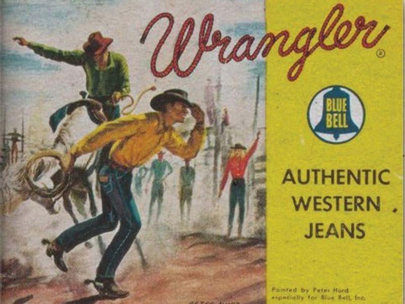 Wrangler Jeans the history