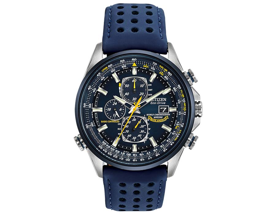 Citizen Ecodrive World Chronograph A-T solar powered watch