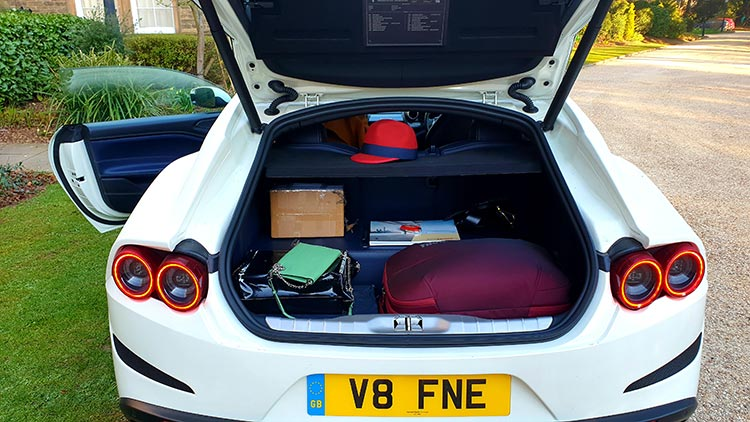 Ferrari Leather Boot Space