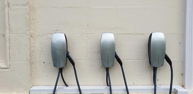 Storrs Hall Hotel Lake Windermere Tesla Charging station