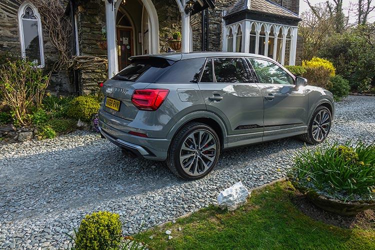 Audi SQ2 SUV Grey MenStyleFashion 2019 Lake District (1)