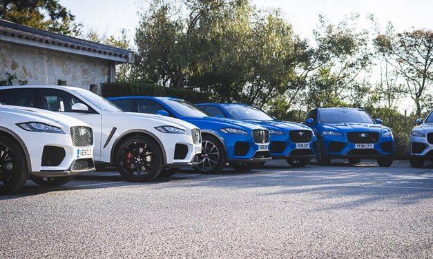 The Big Cats in St Tropez – Jaguar XE & F-Pace SVR Launch