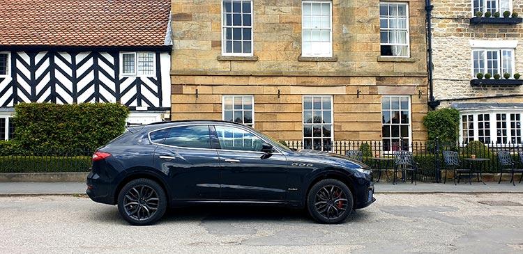 The Black Swan Helmsley North Yorkshire (19) Maserati SUV Levante