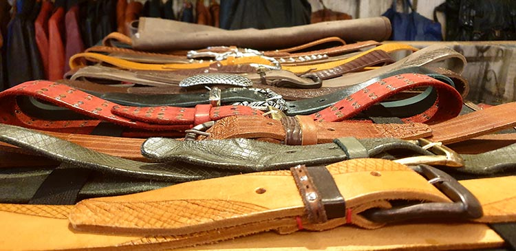 Leather belts benheart italy