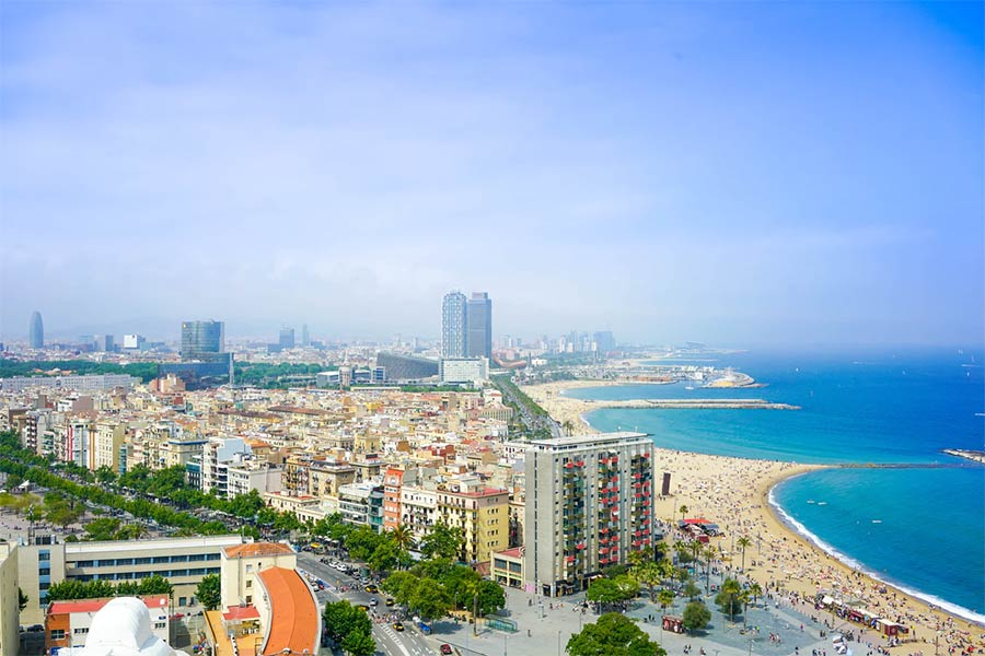 Barcelona is a popular destination for Bachelor parties