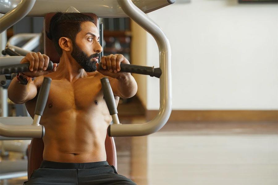 fitness routine man