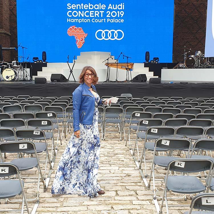Sentebale Audi Concert Gracie Opulanza