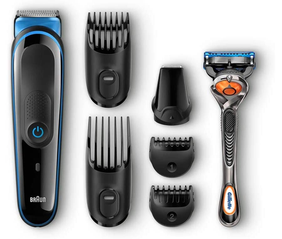 Braun Multi Grooming Kit MGK3045 - 7-in-1 Precision Trimmer for Beard