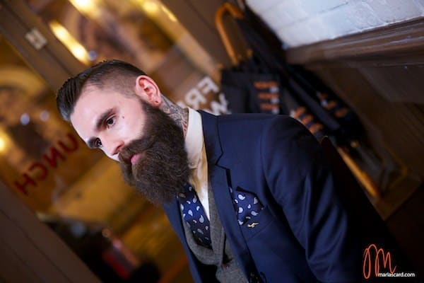 Ricki Hall Tatoo Beard Model MenStyleFashion British Lifestyle (2)