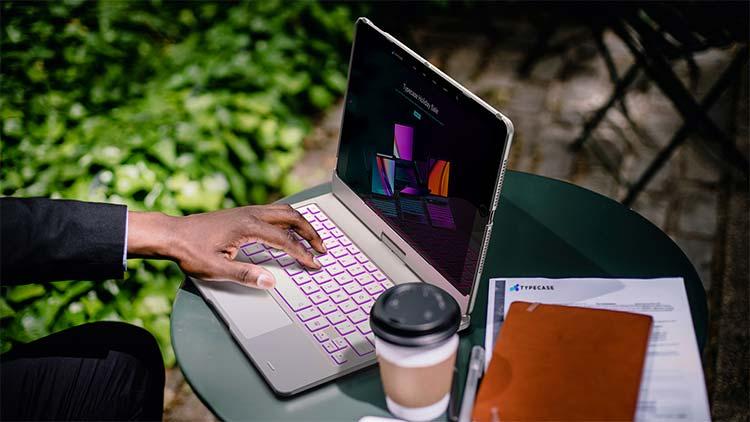 ipad keyboard case type case