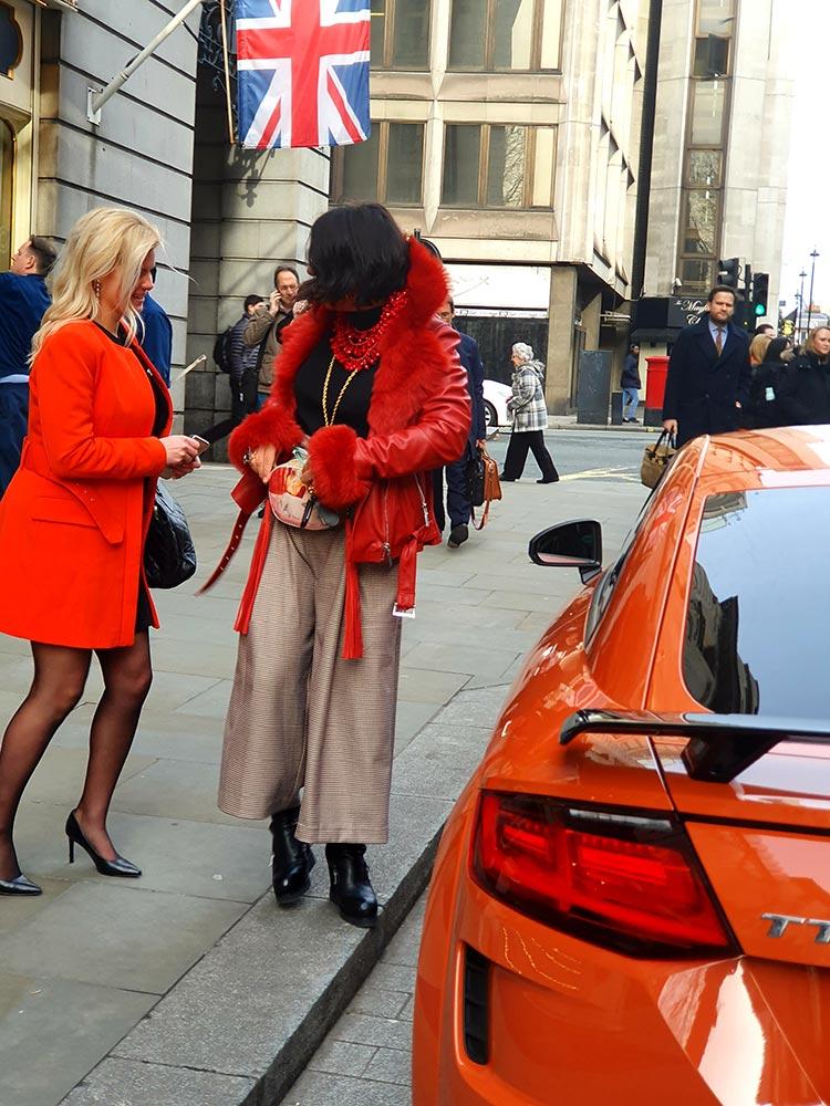 Audi TT London Ritz Hotel Pulse Orange Gracie Opulanza (2)