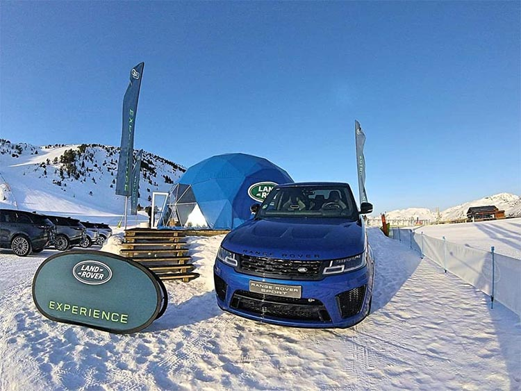 Land Rover Snow Experience - Range Rover SVR V8 575 HP - Men Style Fashion