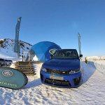 Land Rover Snow Experience – Range Rover SVR V8 575 HP