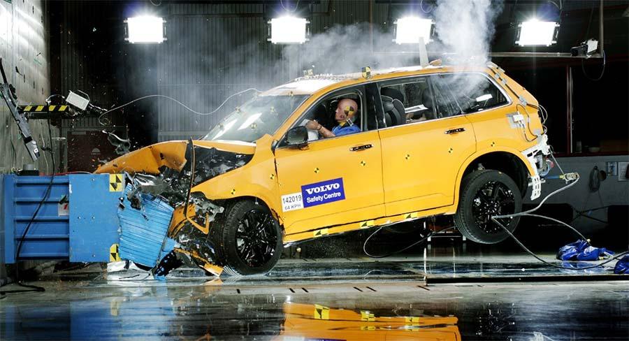 volvo car crash test NCAP