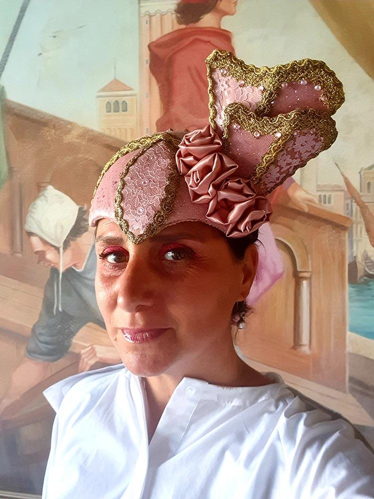 Gracie Opulanza Art head peice ego hotel 2020 venice Italy