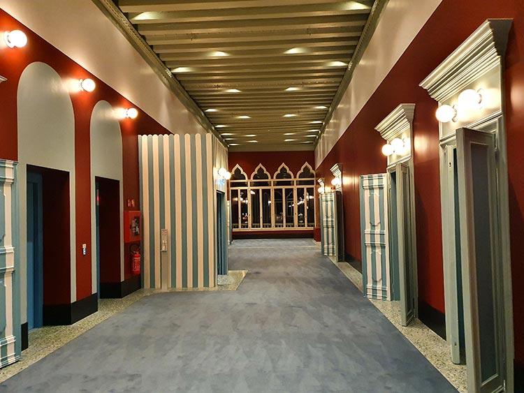 Il Palazzo Experimental - The Modern Venice Hotel Reviewed corridor