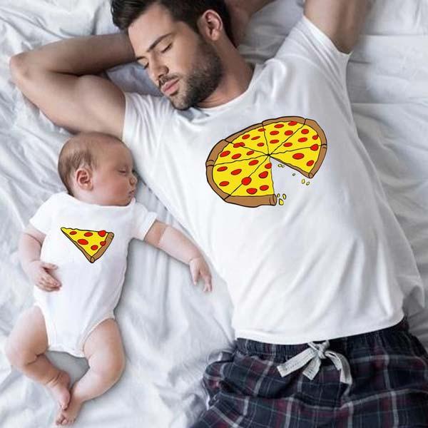 Matching Pizza T-shirt