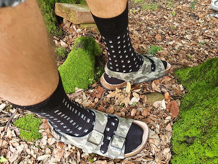 London Sock Company socks with sandals