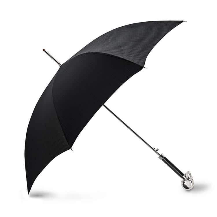 Archer Adam - Damien' Swarovski Skull Umbrella