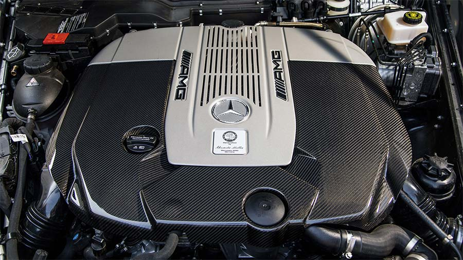 car engine - Mercedes AMG
