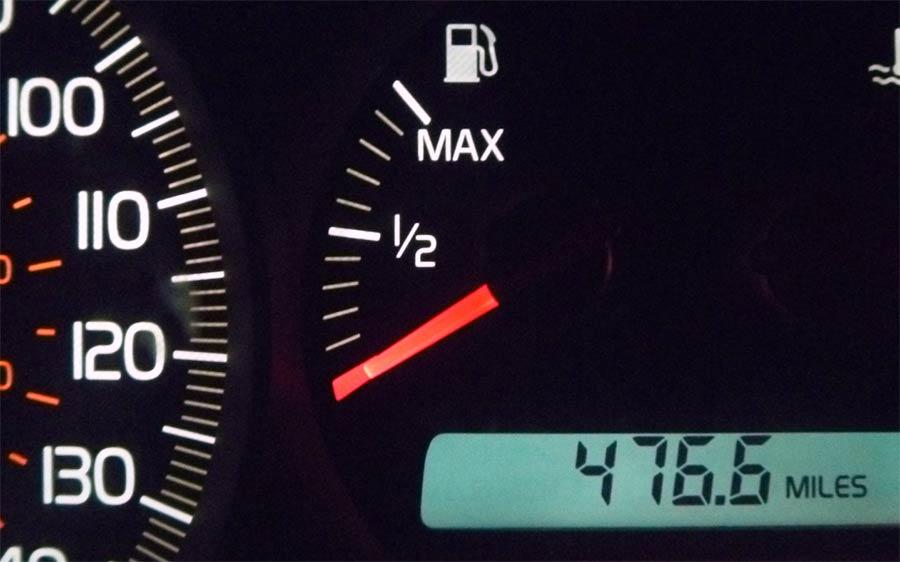 Fuel Gauge car empty