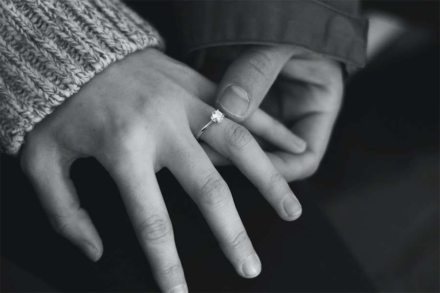 try on engagement rings