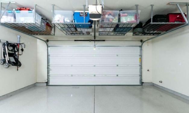 Behind Closed Doors – An Organised Men's Garage