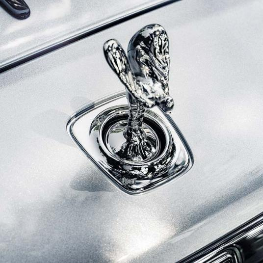 Rolls Royce Dawn Silver Bullet Spirit of Ecstasy ultra paint