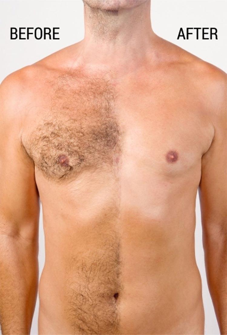 wax man chest