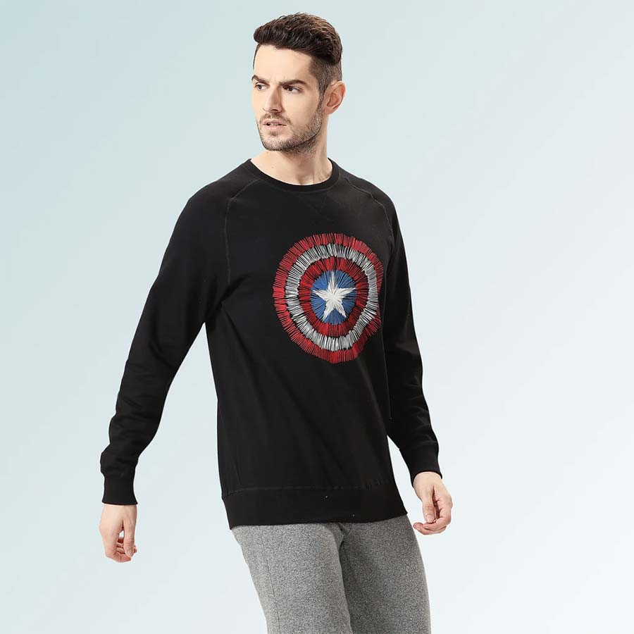 Marvel Sweatshirt- Captain America