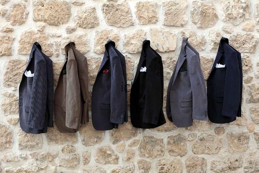 Menswear jackets