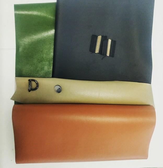 luxury leather samples