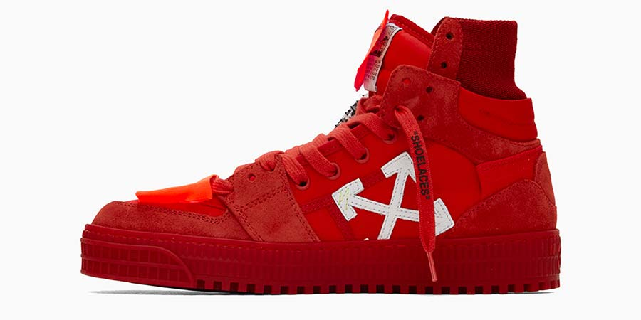 Red Off Court Sneakers