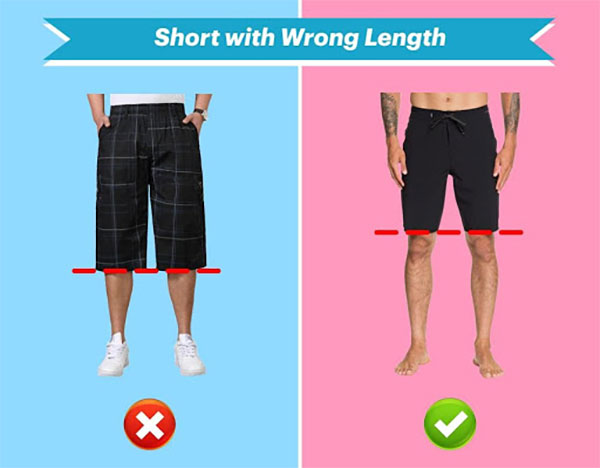 short with wrong length
