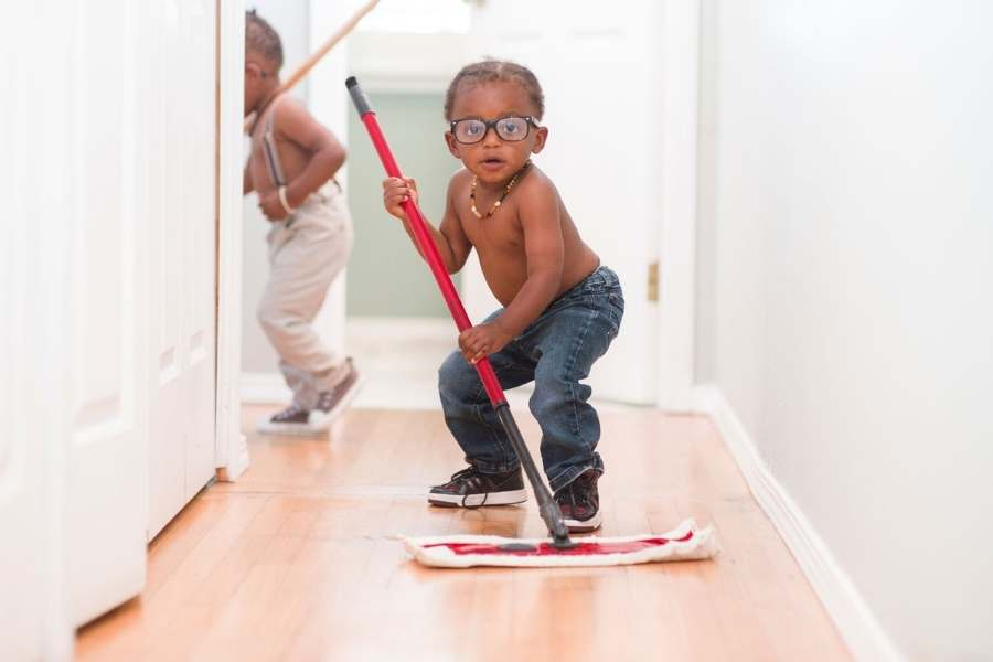 Kids – Your Biggest Allies When Cleaning Up the House