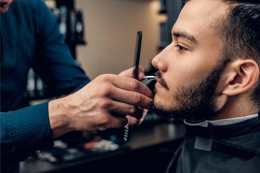 Well groomed man